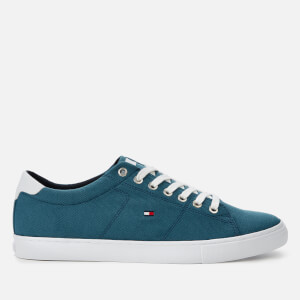 Tommy Hilfiger Men's Iconic Long Lace Trainers - Blue Dock