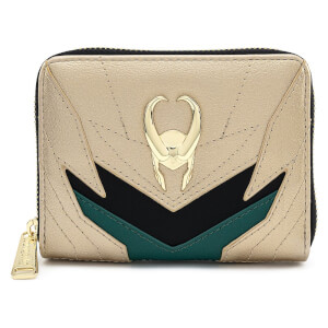 Loungefly Marvel Loki Classic Cosplay Zip Aound Wallet