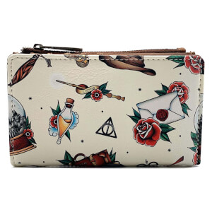 Loungefly Harry Potter Tattoo Aop Wallet