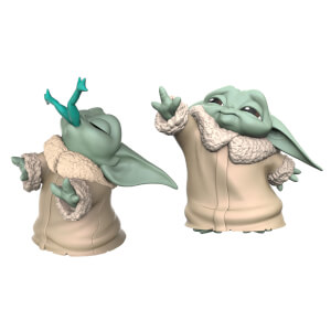 "Hasbro Star Wars: The Mandalorian Baby Bounties ""Frog and Force"" Mini Figures"