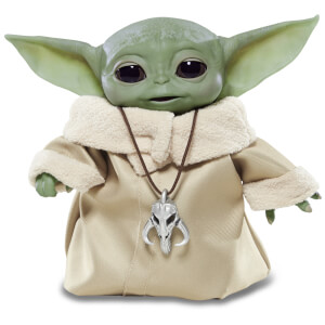 "Hasbro Star Wars: The Mandalorian ""Das Kind"" (Baby Yoda) animatronische Figur"