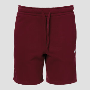 Pantalón Corto Essentials - Oxblood