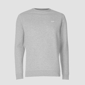 MP Men's Essentials Sweater - Classic Grey Marl