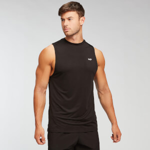 MP Men's Essentials Tank Top - Black/White (2 Pack)