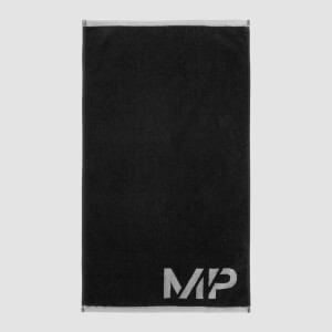 MP Performance Large Towel – Svart