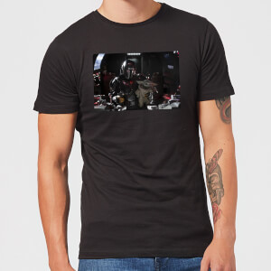 The Mandalorian Pilot And Co Pilot Men's T-Shirt - Black