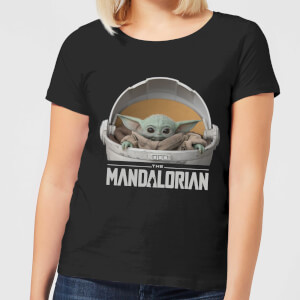 Camiseta The Mandalorian The Child - Mujer - Negro