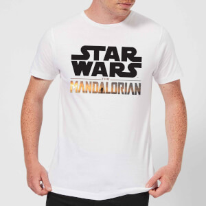 The Mandalorian Mandalorian Title Men's T-Shirt - White