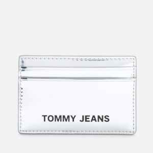 Tommy Jeans Women's Femme Credit Card Holder - Silver