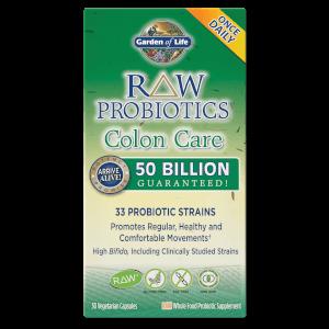 Microbioma Raw para Cuidado del Colon - 30 cápsulas