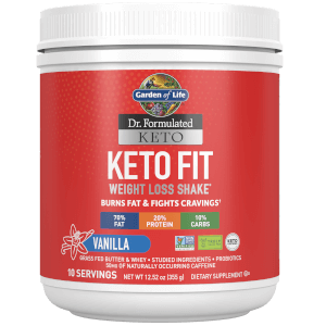 Garden of Life Keto Fit Vanilla 365G Powder