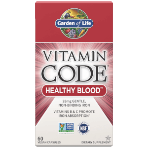 Vitamine Code Healthy Blood - 60 capsules