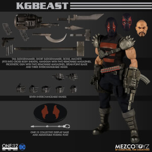 Mezco Batman One:12 Collective KGBeast Action Figure