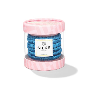 SILKE Hair Ties Bluebelle Powder - Blue