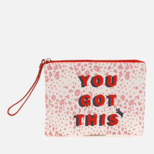 Radley Women's Motivational Small Ziptop Wristlet - Pink