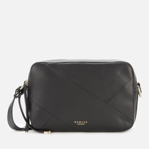 Radley Women's Alba Place - Patchwo Medium Zip Around Cross Body Bag - Black