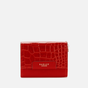 Radley Women's Arlington Court - Fa Medium Flapover Purse - Red