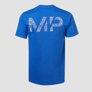 MP Men's Topograph T-Shirt - Cobalt