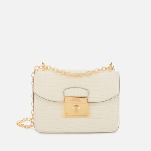 Lauren Ralph Lauren Women's Heritage Lock Mini Cross Body Bag - Vanilla