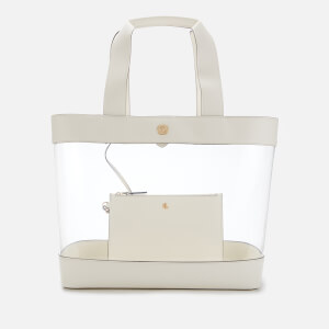 Lauren Ralph Lauren Women's Clear Tote Bag - Vanilla