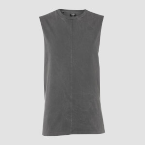 MP Men's Raw Training Drop Armhole Tank - Carbon