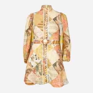 Zimmermann Women's Brightside A-Line Mini Dress - Batik Patch