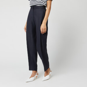 Victoria, Victoria Beckham Women's Tapered Trousers - Midnight Blue