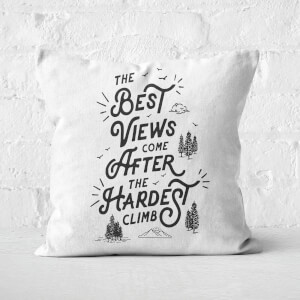 The Motivated Type The Best Views Square Cushion