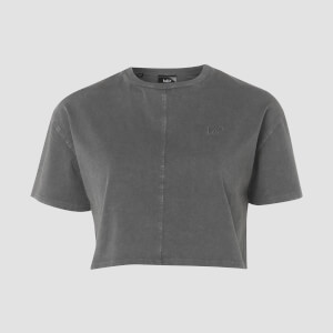 MP Raw Training Cropped T-Shirt - Carbon