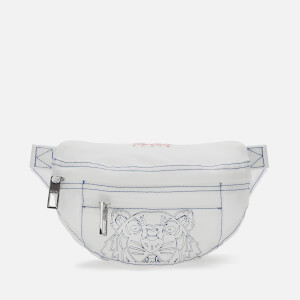 KENZO Men's Transparent Bum Bag - White