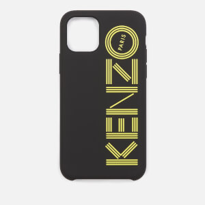 KENZO Men's Logo iPhone 11 Pro Case - Black/Yellow