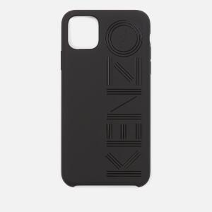 KENZO Men's Logo iPhone 11 Max Case - Black