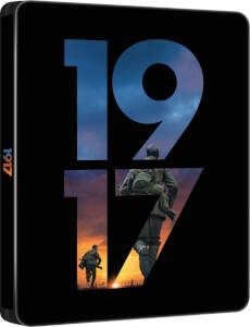 1917 4K UHD (incl. Blu-ray 2D) - Steelbook Edición Limitada Exclusivo Zavvi