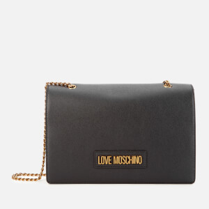 Love Moschino Women's Chain Shoulder Bag - Black