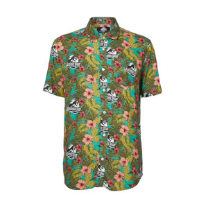 Limited Edition Jurassic Park Botanical Printed Shirt - Zavvi Exclusive