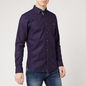 Ted Baker Men's Yesway Shirt - Navy