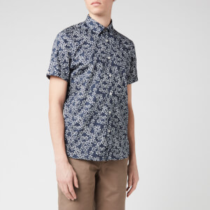 Ted Baker Men's Yepyep Floral Print Shirt - Navy