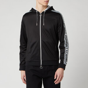 Armani Exchange Men's Tape Detail Hoodie - Black