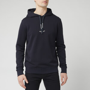 Armani Exchange Men's Centre Logo Hoodie - Navy