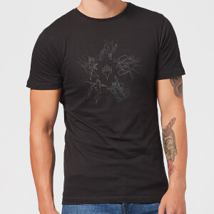 Magic: The Gathering Theros: Beyond Death Gods Constellation Men's T-Shirt - Black