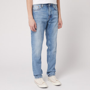 Nudie Jeans Men's Steady Eddie Lin Jeans - Sunday Blues