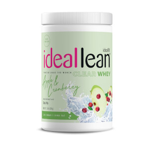 IdealFit Clear Whey Protein - Apple and Cranberry - 20 Servings