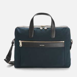 PS Paul Smith Men's Canvas Folio Bag - Blue