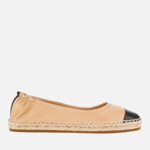 Coach Women's Camryn Leather Espadrilles - Black/Beachwood