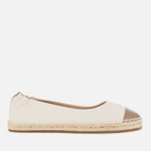 Coach Women's Camryn Leather Espadrilles - Elm/Chalk