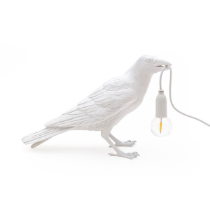 Seletti Waiting Bird Lamp - White