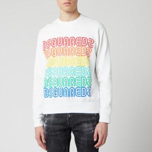 Dsquared2 Men's Multi Logo Sweatshirt - White