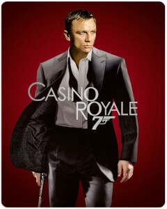 Exclusivité Zavvi : Steelbook Casino Royale - 4K Ultra HD (Blu-ray 2D Inclus)