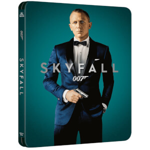 007: Skyfall 4K (incl. Blu-ray 2D) - Steelbook Ed. Limitada Exclusivo