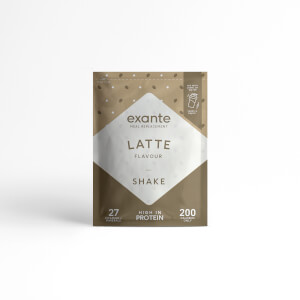 Meal Replacement Latte Shake